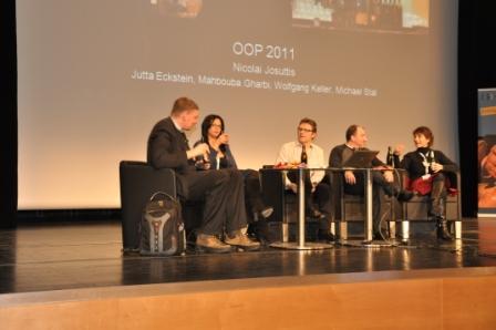 ITech Progress auf der OOP 2011. Herzlichen Glückwunsch zum 20. Jubiläum OOP!