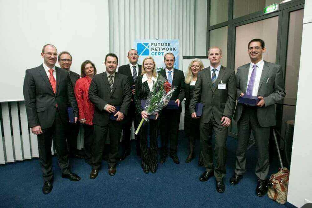 Preisverleihung in Wien – Die Mitarbeiter von ITech Progress gehören zu den besten Software-Architekten der DACH-Region