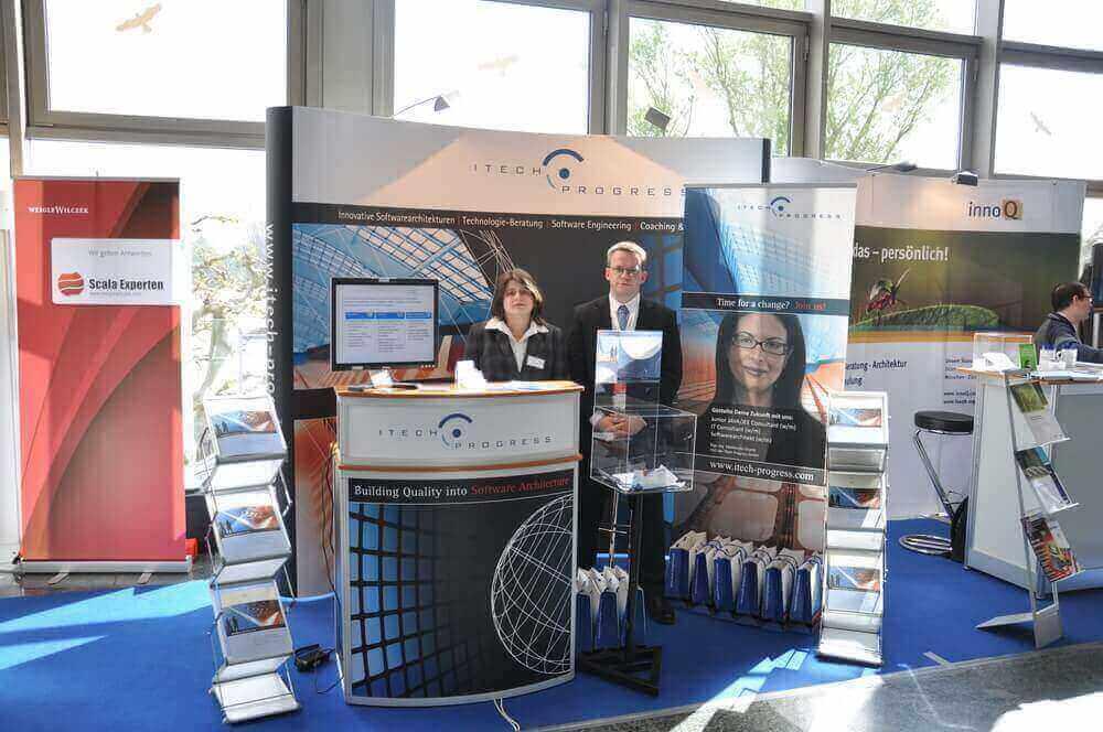 Erfolgreiche Teilnahme von ITech Progress auf der JAX 2012!