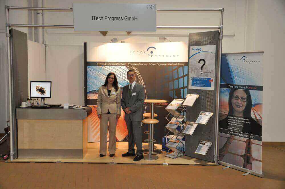 Erfolgreich Karrierechancen bei ITech Progress nutzen – Gelungener Messeauftritt auf der bonding in Karlsruhe
