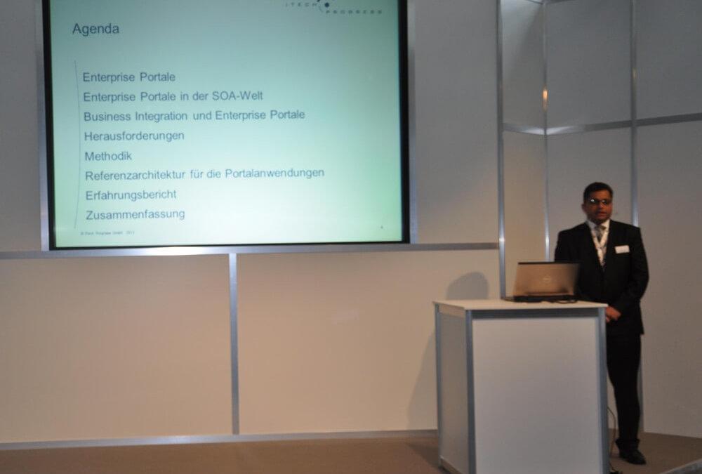 Forumsvortrag ITech Progress auf der OOP 2013: Business Integration und Portale in der SOA-Welt