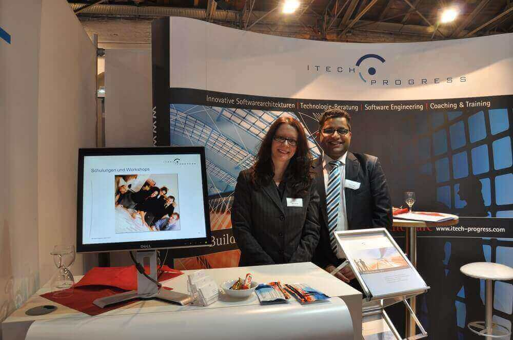 Erfolgreicher Messeauftritt in München bei der Firmenkontaktmesse bonding am 12.12.2012
