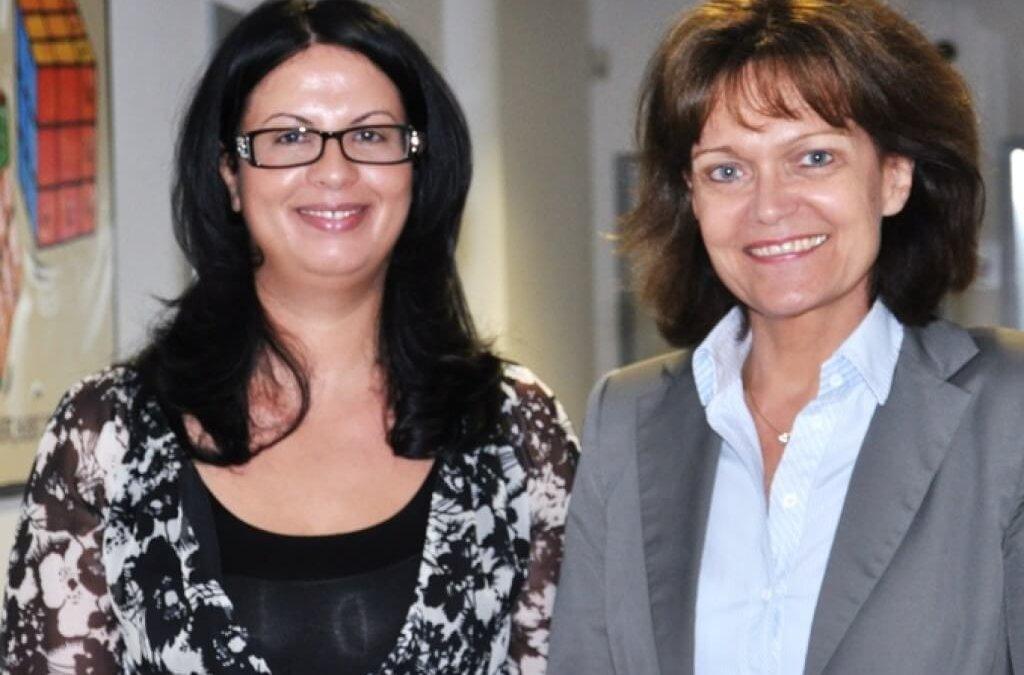 Oberbürgermeisterin Dr. Eva Lohse besuchte die ITech Progress GmbH in ihrer Geschäftsstelle auf der Technologiemeile in Ludwigshafen am Rhein