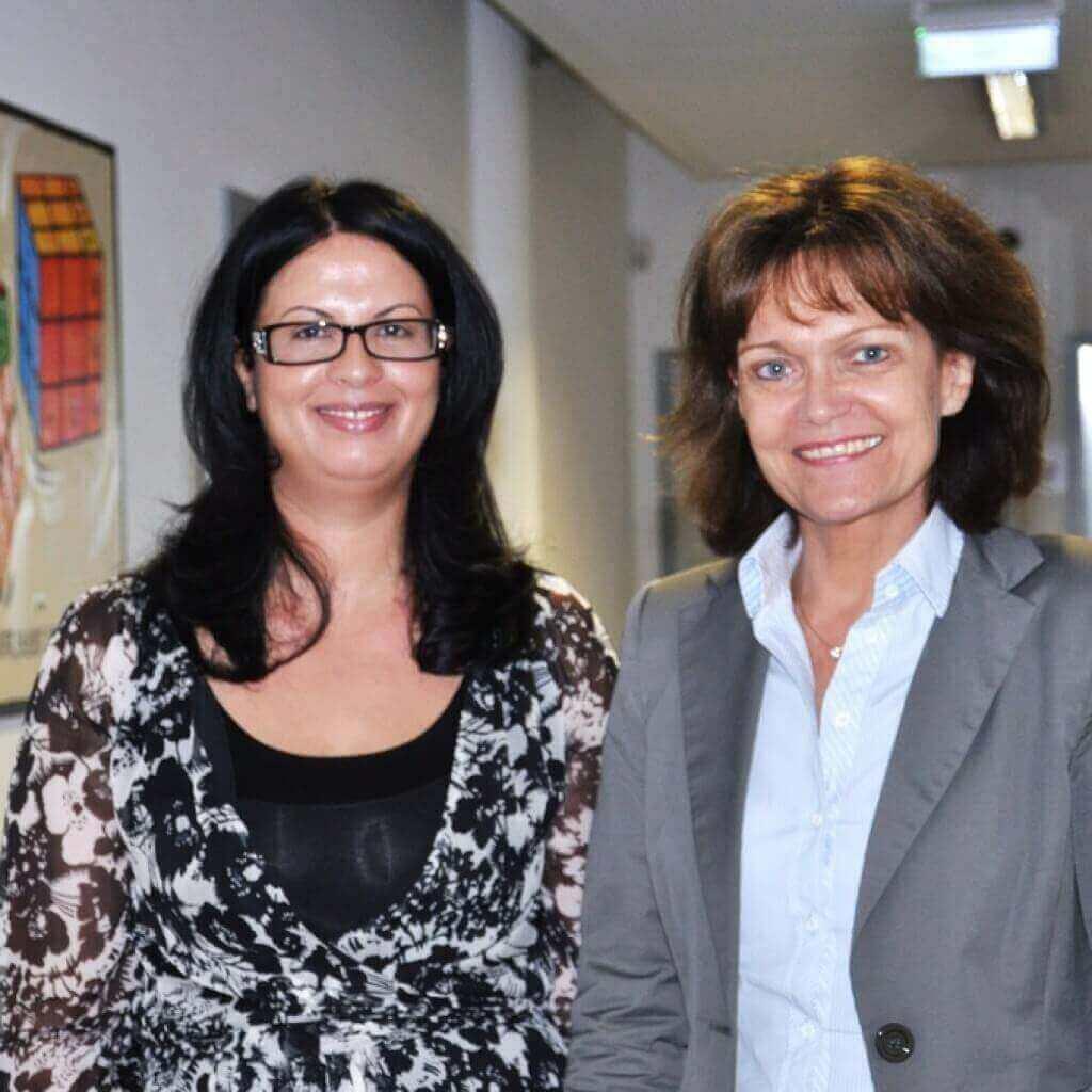 Oberbürgermeisterin Dr. Lohne bei ITech Progress