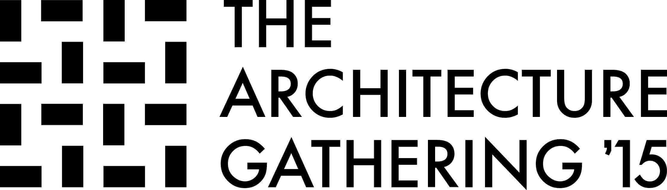 The Architecture Gathering 2015 - Logo