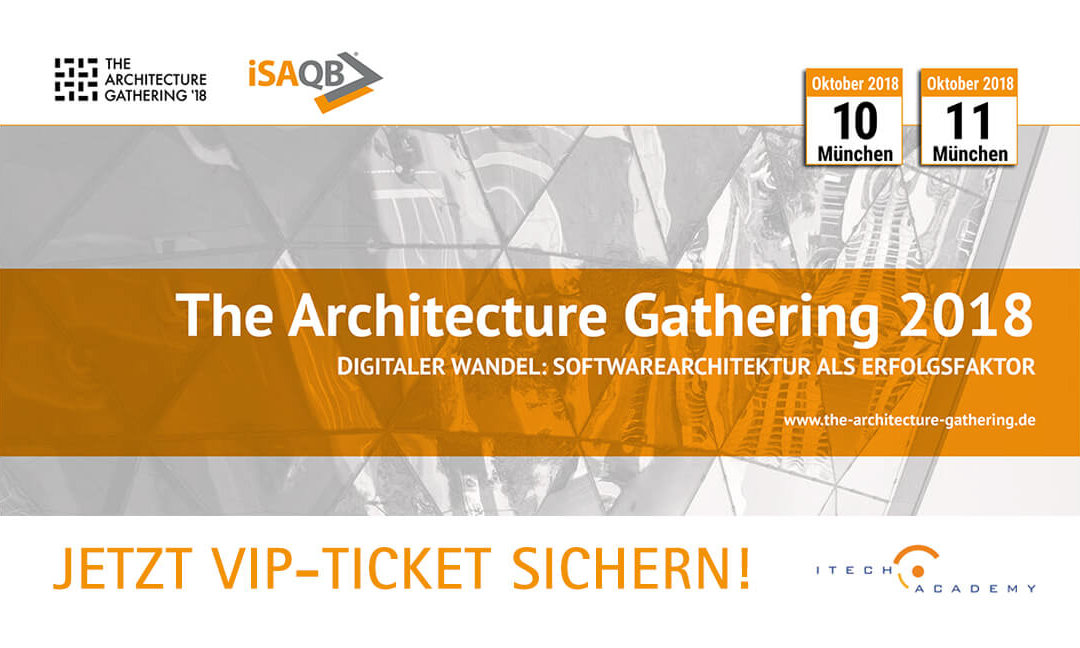 """The Architecture Gathering 2018"" – Jetzt VIP-Tickets sichern!"