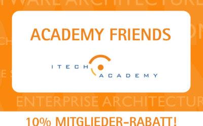NEU: ITech Academy Friends auf Facebook