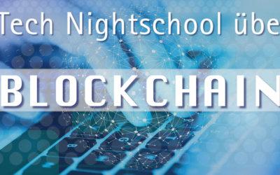 "ITech Night School über ""Blockchain"""